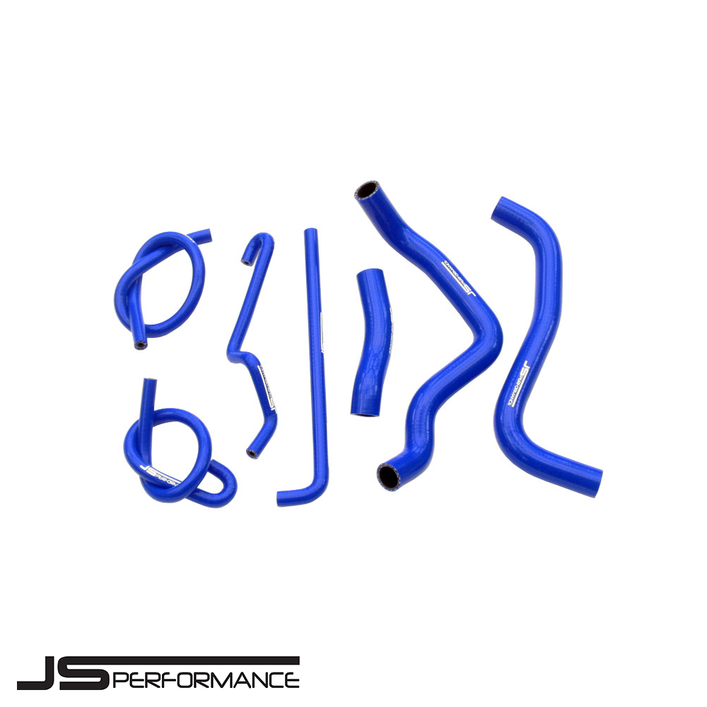 JS Performance Suzuki GSXR1000 K5/K6 (2005-2006) Silicone Coolant Hose Kit - JSMOSU003